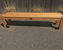 Handmade Wooden Outdoor Furniture by Wooden Bench Etsy