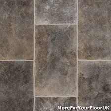 grey rectangle tile vinyl flooring slip resistant lino 3m