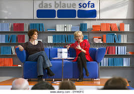 das blaue sofa das blaue sofa stock photos das blaue sofa stock images alamy