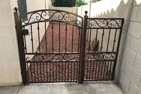 decorative wrought iron gates sun king fencing
