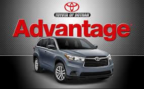 advantage toyota used cars toyota of dothan advantage
