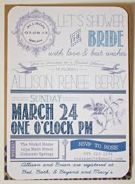 handmade by meg k diy bridal shower invitations