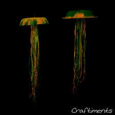 craftiments glow in the dark jellyfish craft