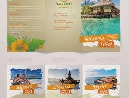 island brochure template 20 cool vacation brochures templates