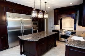 Kitchens With Dark Brown Cabinets Kitchen Inovative Full Kitchen Set Ideas Cool Full Kitchen Set