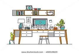 colorful floor plan house stock vector 280761263 shutterstock