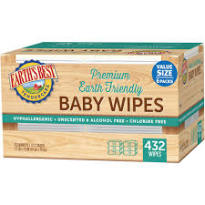 Ready To Ship Wipe Your Parent U0027s Choice Soothing Shea Butter Baby Wipes 80 Count