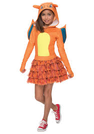 spirit halloween kids costumes girls pokemon charizard costume