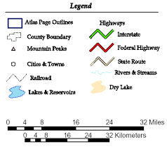 what is a map legend characteristics and components of maps yaaka digital learning