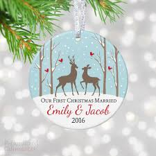 our married ornament personalized gift market