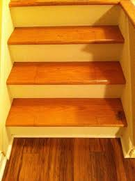 wooden stairs paint or no paint