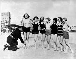 did you know in the 1920s police could arrest women for exposing