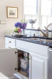 sink kitchen cabinet organizer kitchen organization simple ways to declutter your