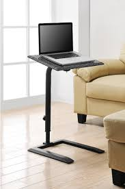 Adjustable Laptop Desks by Furniture Stand Up Computer Desk In White Finished Made Of Metal