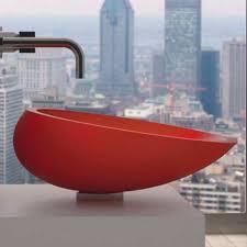 design aufsatzwaschbecken aufsatzwaschbecken rund vetrofreddo modern kool glass