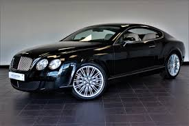 find used bentley for sale used bentley continental gt speed black 6 0 coupe worksop