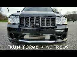 turbo jeep srt8 srtlife video truestreet twin turbo nitrous wk1 jeep srt