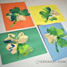 st patrick u0027s day shamrock craft for toddlers and kids