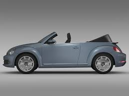new volkswagen beetle convertible vw beetle cabriolet denim concept 2015 by creator 3d 3docean
