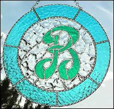 69 best glass letters images on pinterest glass art mosaics and
