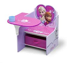 delta children frozen chair desk with storage bin walmart com