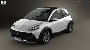 opel adam rocks 360 view of opel adam rocks concept 2013 3d model hum3d store