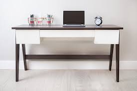 Home Office Table by Amazon Com Magtec Trendline Collection Desk With 3 Drawers