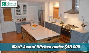 kitchen under 50k peninsula remodelers council