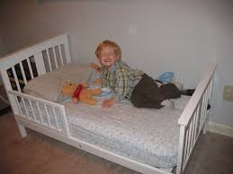 I Have A Small Bedroom With Big Furniture Little Man In A Big Boy Bed Or How To Help Your Toddler