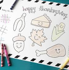 Thanksgiving Printable Free Free Thanksgiving Printable Placemat