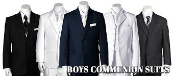 communion boys christening and communion for boys and