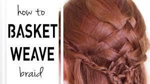braided hairstyle instructions step by step step by step diy basketweave braid tutorial youtube