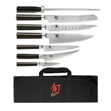 shun classic 8 pc student knife set dms0899