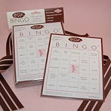 bridal shower gifts for guests bridal shower gift bingo for 50 guests bingo