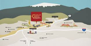 Maps Colorado Springs by Maps Gold Hill Mesa