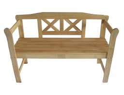 wooden bench for outdoor unique seating idea simple outdoor com