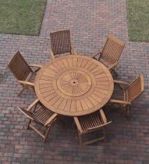 Lazy Susan Turntable For Patio Table Lazy Susan Dining Set Foter
