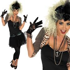 madonna costume 80s fancy dress madonna costume includes necklace pop