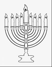 brilliant printable hanukkah coloring pages with menorah coloring