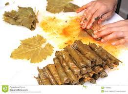 cuisine de turquie cuisine turque sarma fait maison le riz enveloppé en raisin part