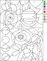 nicole u0027s free coloring pages christmas color number share