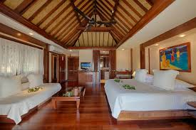 accommodation beach bungalow moorea hotel manava beach resort