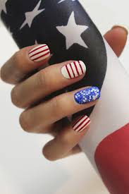 stars and stripes nail art how to