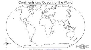 blank map of continents my blog