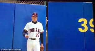 Major League Movie Meme - charlie sheen revives wild thing character from major league movie