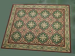 zementfliesen iraquia grün rot matt vintage jugendstil fliesen