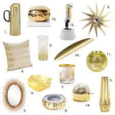 gold home decor accessories color pop gold home accessories decor design necessities