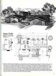 home planners house plans mid century modern floor plans house plans and home designs free
