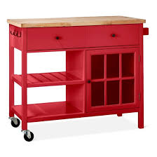 windham wood top kitchen island red threshold target
