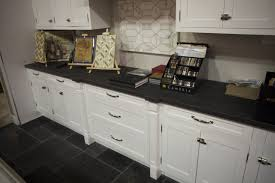 Onyx Countertop Impressive Decorating Ideas Using Grey Loose Curtains And